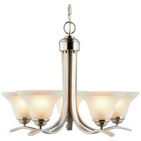 Boston Harbor 1571-5C Chandelier, 60 W, Medium , Base, 5 Lamp