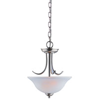 2-Lite Pendant Fixture Brushed Nickel
