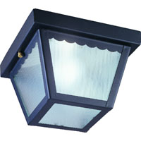 Boston Harbor 6276BK3L Impact Porch Light Fixture, Medium, 40 W, 1 Lamp