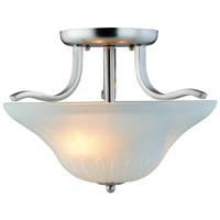 Boston Harbor 1571-2SF-3L Ceiling Fixture, 60 W, 2 Lamp