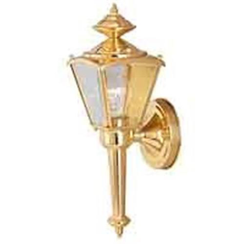 1 Light Sm Brass Coach Lantern