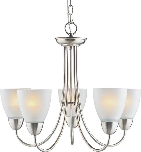 Boston Harbor A2242-6 Chandelier, 60 W, Medium Base Base, 5 Lamp