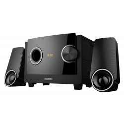 BOYTONE BT3129F BLACK 2.1 MULTIMEDIA SPEAKER SYSTEM WITH