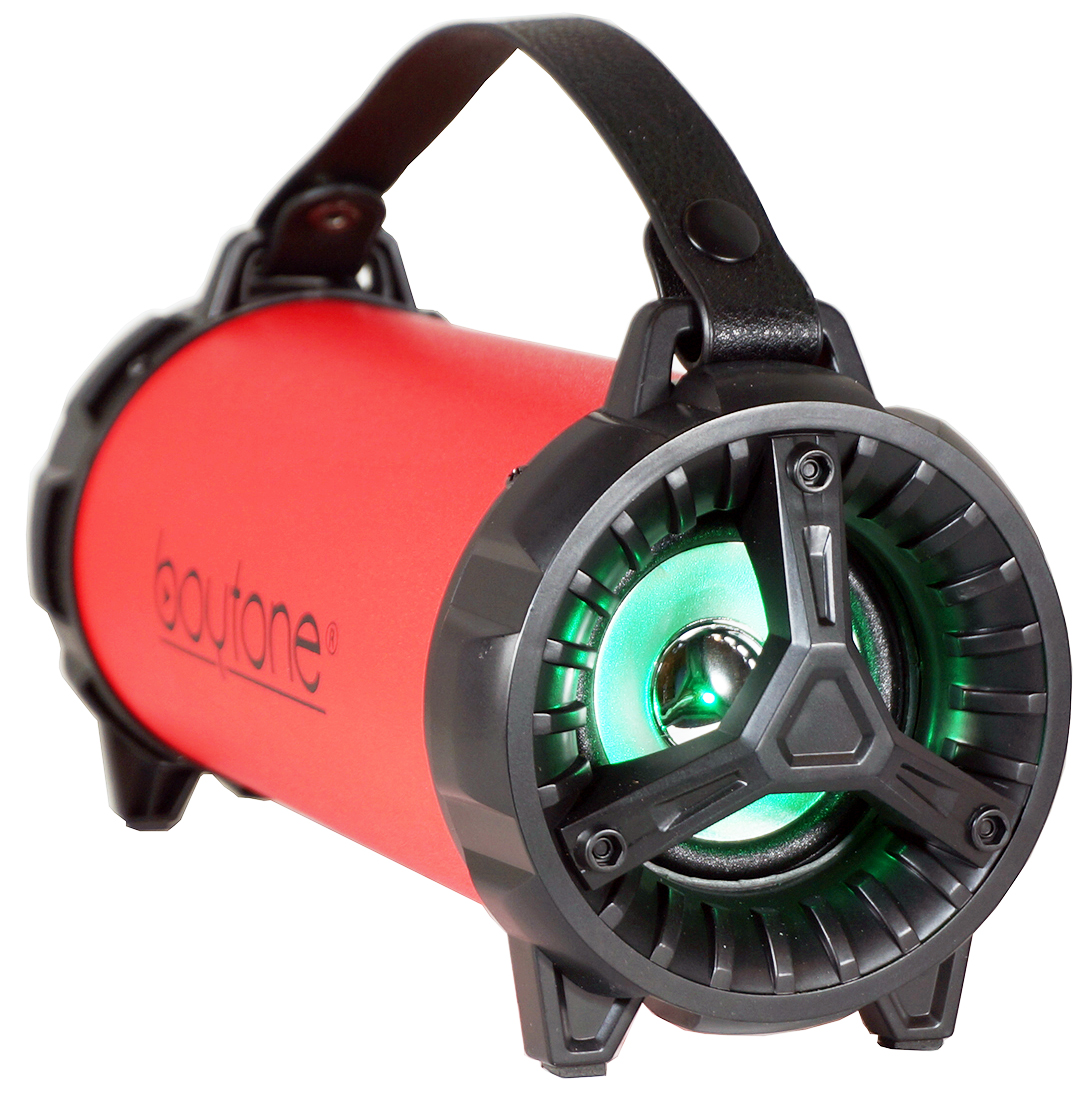 BOYTONE BT-40RD RED PORTABLE BLUETOOTH INDOOR AND OUTDOOR