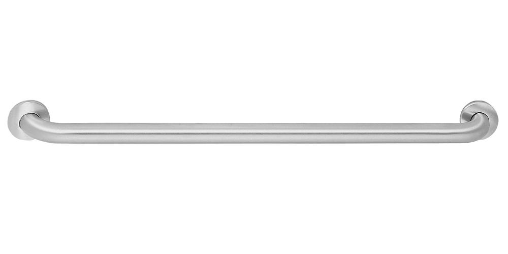 """STAINLESS STEEL GRAB BAR 45 DEG MOUNT 16"""""""