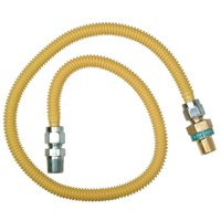 GAS CONNECTOR 3/4MIPX1/2FIPX48