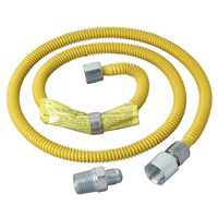 GAS CONNECTOR 1/2FIPX1/2MIPX48