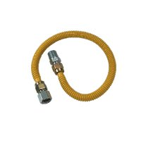 GAS CONNECTOR 1/2FIPX1/2MIPX36
