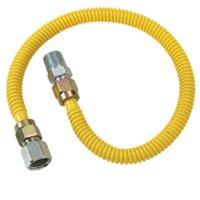 1/2 FIP X 1/2 MIP X 36 Coated Connector