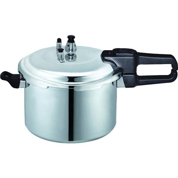 Brentwood BPC-112 9.0 Liter Pressure Cooker in Aluminum