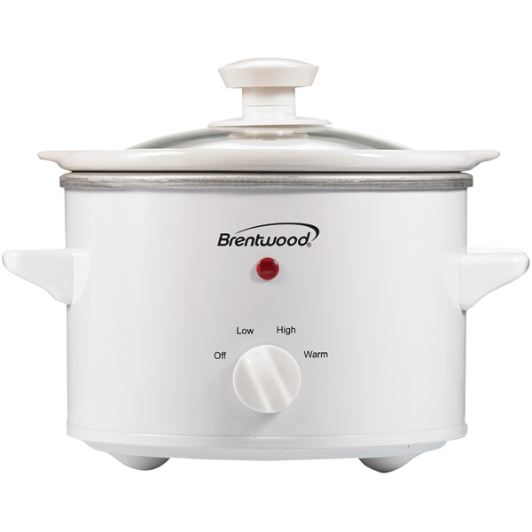 BRENTWOOD SC-115W 1.5 Quart Slow Cooker