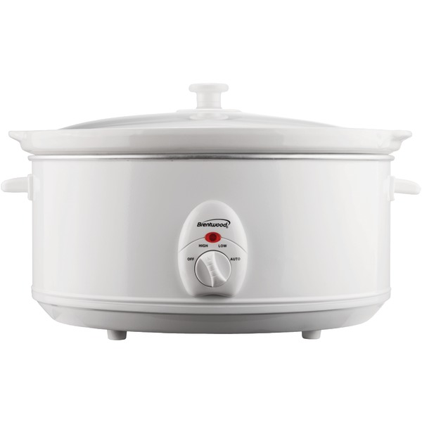 BRENTWOOD SC-145W 6.5-Quart Slow Cooker