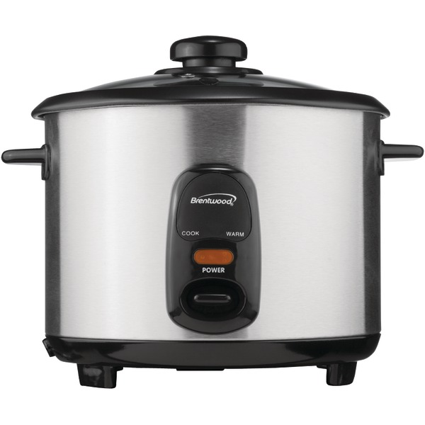 Brentwood Appliances TS-20 Stainless Steel 10-Cup Rice Cooker