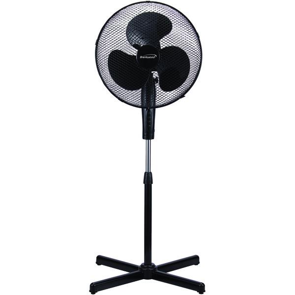 "Brentwood Kool Zone F-165MW 16"" Oscillating Stand Fan"