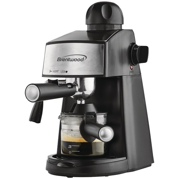 Brentwood Appliances GA-125 Espresso & Cappuccino Maker