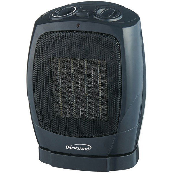 Brentwood Appliances H-C1600 Oscillating Ceramic Heater