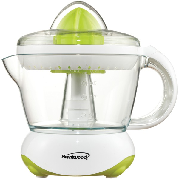 Brentwood Appliances J-15 White Citrus Squeezer/Juicer