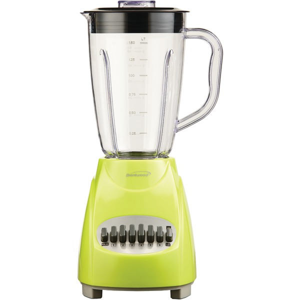 Brentwood Appliances JB-220G 12-Speed Blender with Plastic Jar (Lime Green)
