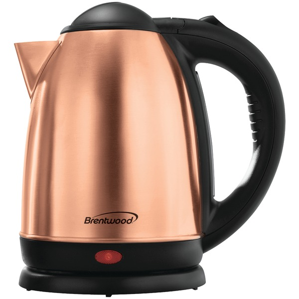 Brentwood Appliances KT-1790RG Electric Stainless Steel Kettle (1.7 Liter)