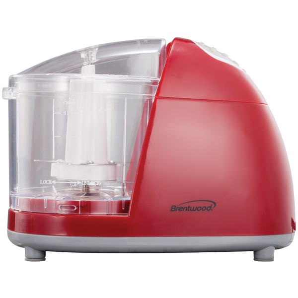 Brentwood Appliances MC-105 Mini Red Food Chopper