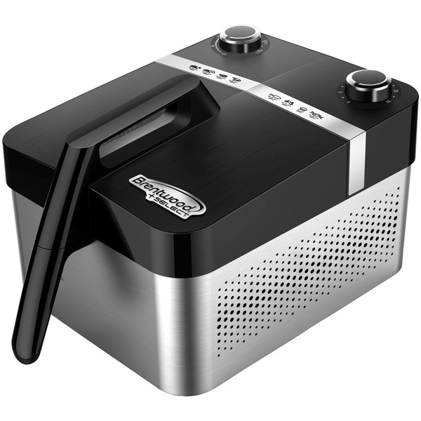Brentwood Appliances AF-32SS Stainless Steel Rapid Air Fryer with Adjustable Temperature Control