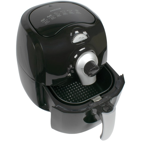 3.7QT 1400W AIR FRYER BLK