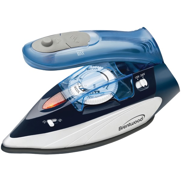 1100W TRAVEL STM IRON BLU