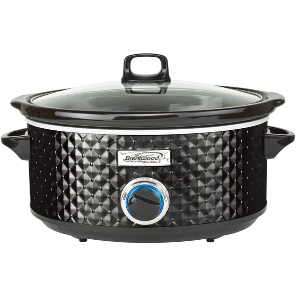 7QT SLOW COOKER BLK