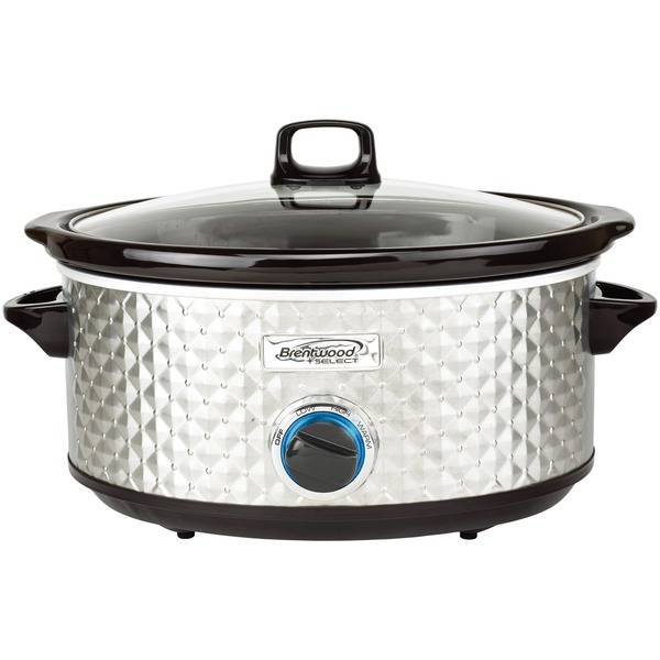 7QT SLOW COOKER SLV
