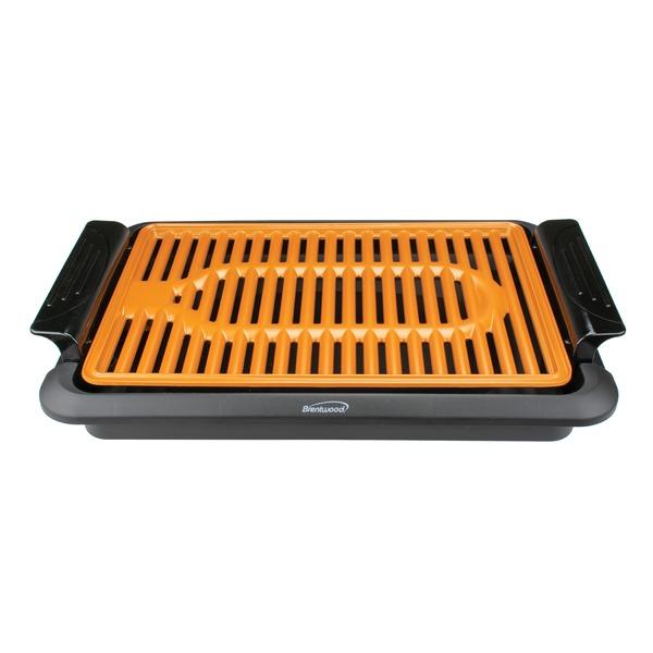 Brentwood Appliances TS-642 1,000-Watt Indoor Electric Copper Grill
