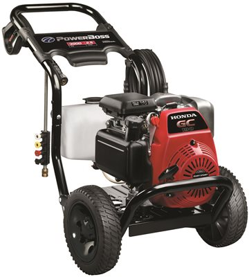 POWER BOSS HONDA POWERED PRESSURE WASHER, 3000 PSI