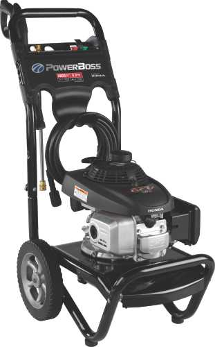 BRIGGS & STRATTON� POWERBOSS GAS PRESSURE WASHER, 2.3 GPM, 2,800 PSI