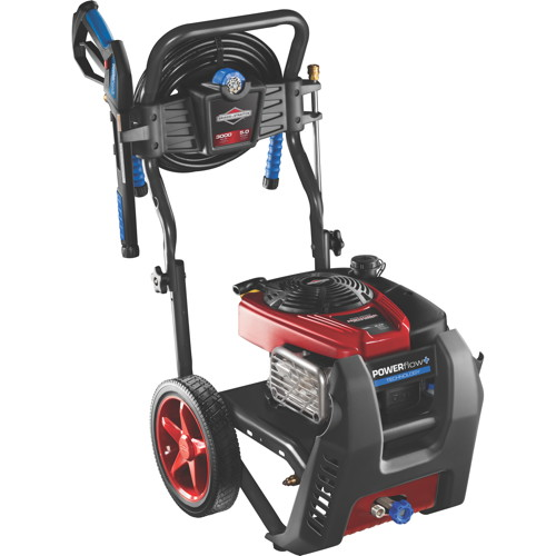 BRIGGS & STRATTON� POWERFLOW+ GAS PRESSURE WASHER, 1 GALLON, 3,000 PSI, 2.3 GPM