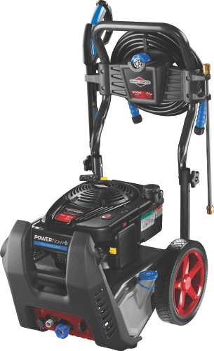 BRIGGS & STRATTON� POWERFLOW+ GAS PRESSURE WASHER WITH ELECTRIC START, 1 GALLON, 2.3 GPM, 3,000 PSI