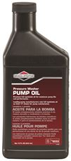 BRIGGS & STRATTON HIGH ENDURANCE SYNTHETIC PRESSURE WASHER PUMP OIL , 15 OZ