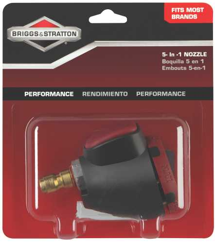 BRIGGS & STRATTON 5-IN-1 NOZZLE KIT