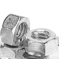 Porteous 00200-3000-404 Hex Nut, 5/8-11, Hot Dip Galvanized