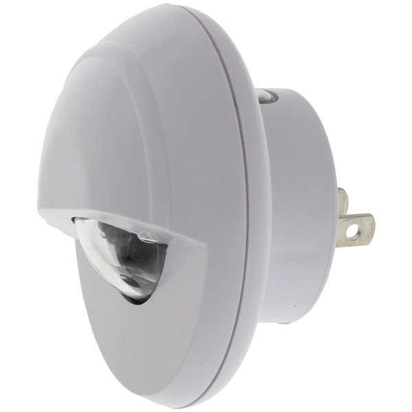 Bright-Way 896LED Wide-Angle Spot Rotating LED Night-Light with Night Sensor