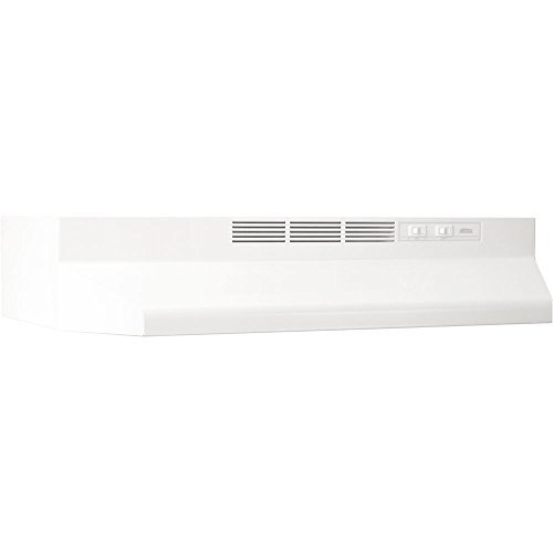 BROAN MANUFACTURING� UNDER CABINET, NON-DUCTED RANGE HOOD, ALMOND