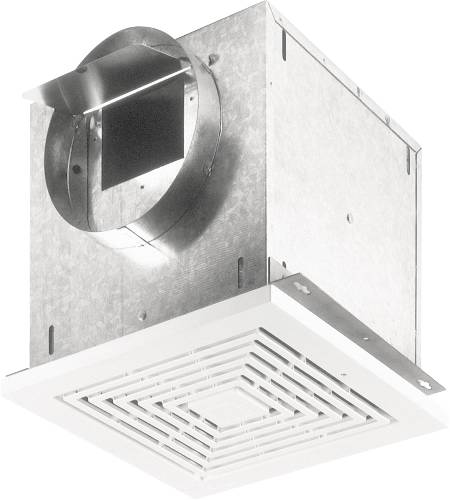 109 CFM 0.9 Sones High Capacity Ceiling Mount Ventilation Fan