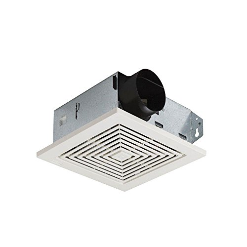 70 CFM 6.0 Sones qCeiling/Wall Ventilation Fan