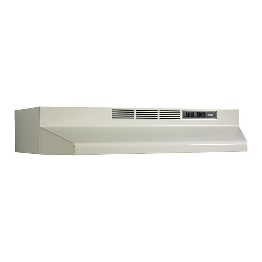 01413002 30N Biscuit NON DUCTED Range Hood