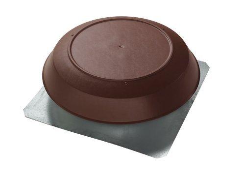1050 Cubic Feet Per Minute ATTIC Vent Brown PVC DOME