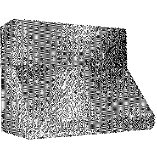 12 Soffit Flue Cover For 36 Hood Stainless Steel