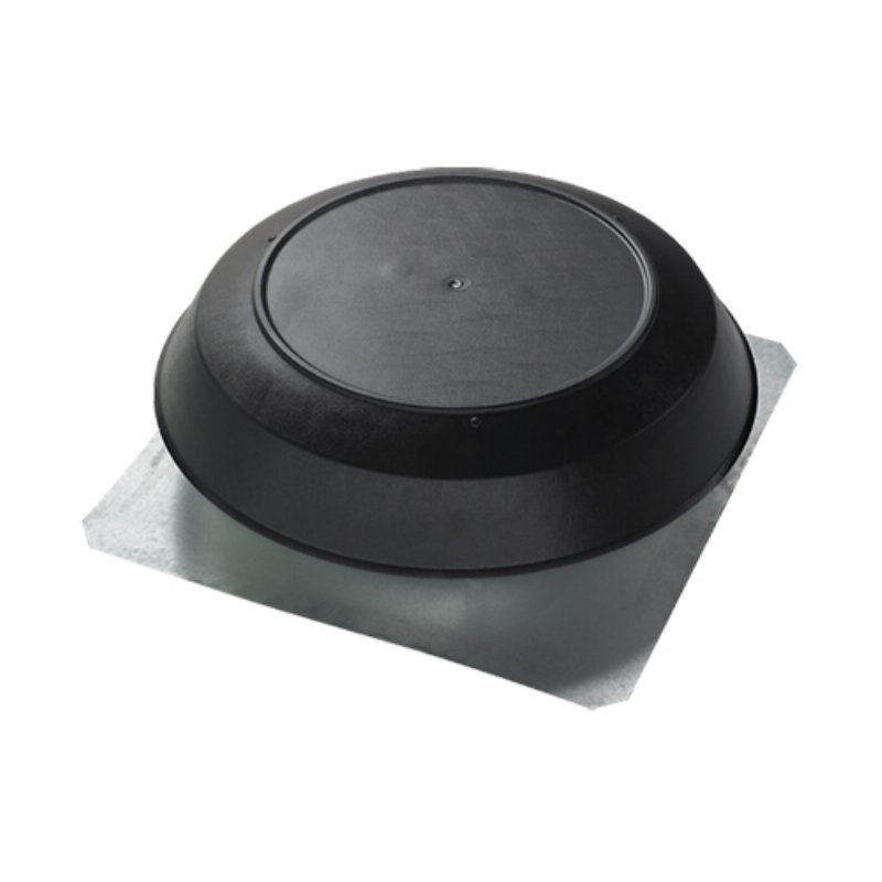 1600 Cubic Feet Per Minute ATTIC Vent Black PVC DOME