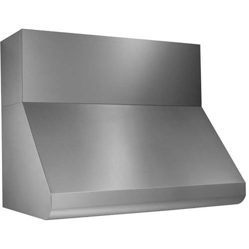 12 Soffit Flue Cover Stainless Steel