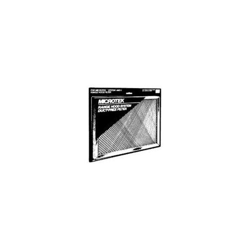 "Washable Aluminum Filter, Charcoal Filter/Lens, 11-3/8"" x 11-3/4"""