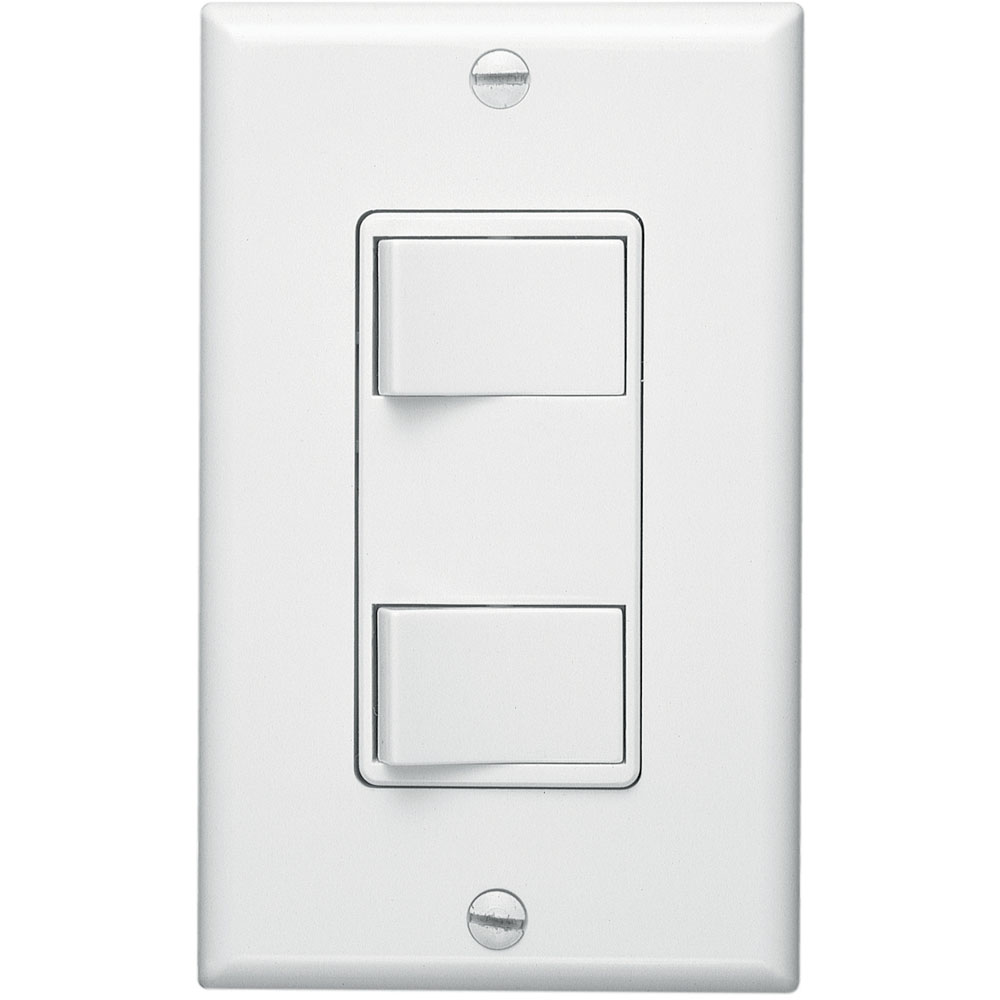 2-Function Control Wall Switch