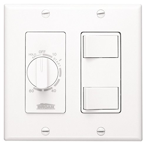 60-Minute Time Control & 2-Rocker Switches