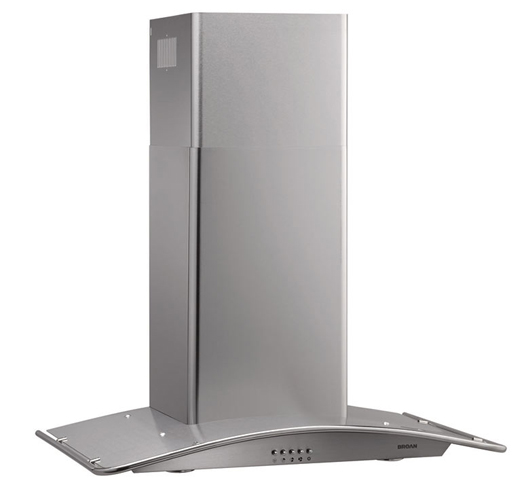 "29-1/2"" Arched Wall-Mounted Range Hood"